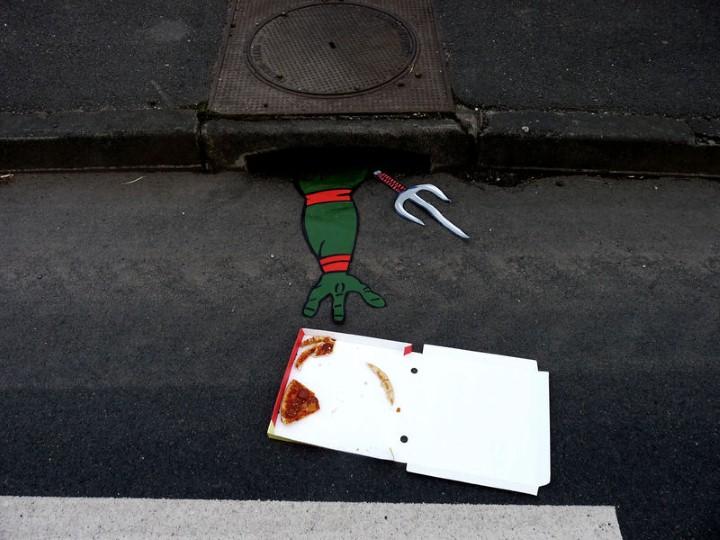 Уличный шутник. OakOak 19