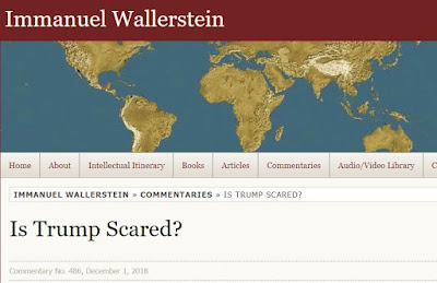 Onko Trump peloissaan?