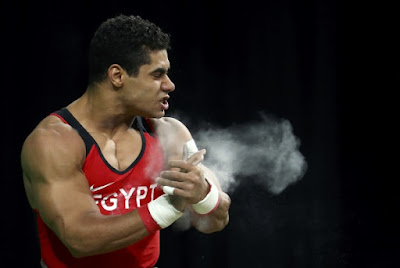 Egyptian Olympian Mohamed Ihab