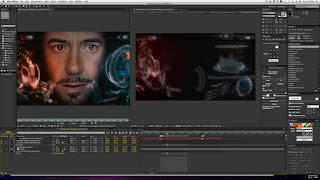 Tampilan Adobe After Effects