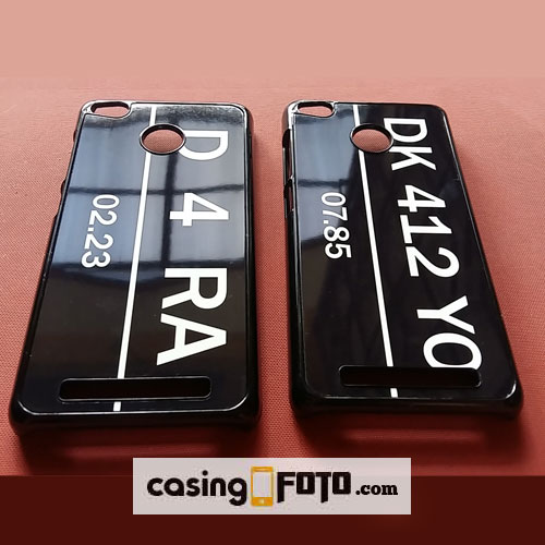 Casing Foto Hp Custom Case Plat Nomor Ready All Tipe Hp