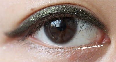 Mizon brown eyeliner in shade