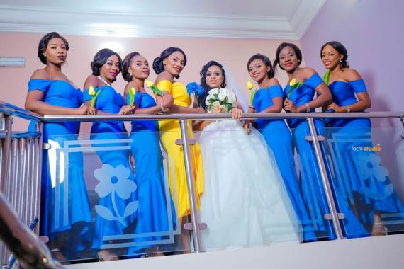 Onochie Azinge and oma wedding photos in Enugus State.