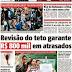 Revisão do teto paga R$ 832 mil em atrasados