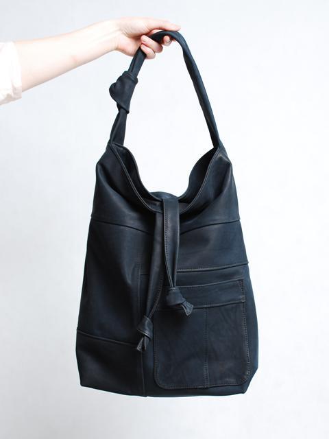e5afa770f93e1 recycled by Lenka  BAGS RECYCLED BY LENKA torba worek czarna skóra