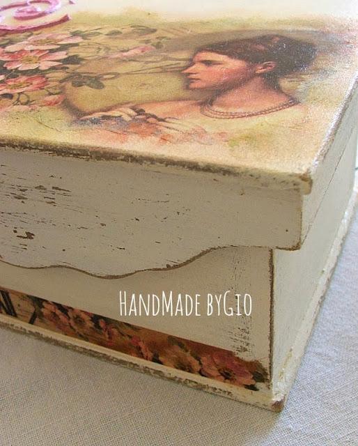 Handmade by gio portagioie romantic shabby chic for Arredamento shabby chic napoli