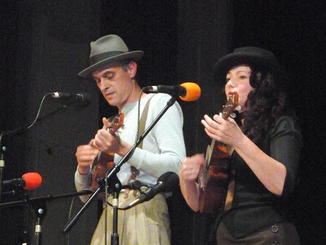 uke box at grand northern ukulele festival
