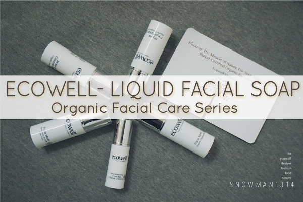 [Review] Anti-aging Ecowell Facial Care Essentials - Liquid Facial Soap