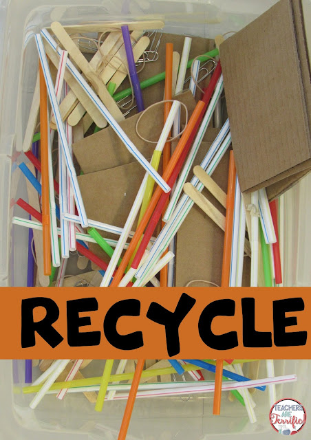 STEM Class: Here's a great tip fro this blog post- Collect gently used or unused materials and sort them for use in later challenges. Check the post for more ideas!