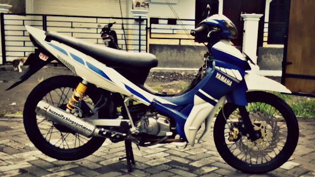 Jupiter Z burhan 2006 Full Modifikasi Striping Balap