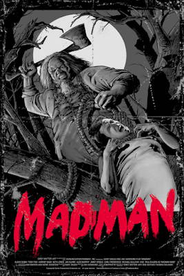 Madman Screen Print by Nathan Thomas Milliner & Grey Matter Art