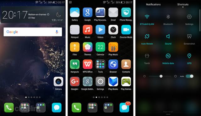 Smartphone Huawei examen Mate S