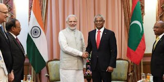 India provided Financial Support to Maldives