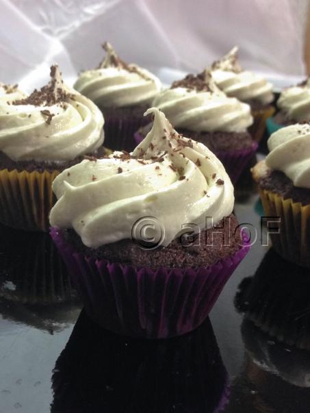 1st Chocolate Beet Cake used as mini cupcakes