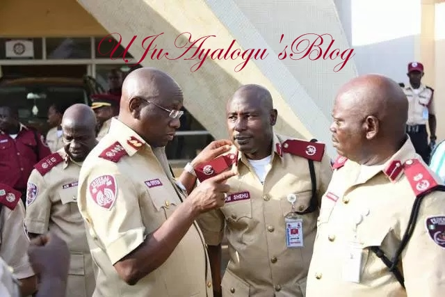 FRSC asks police to arrest Abia speaker, wife over shooting of two officials