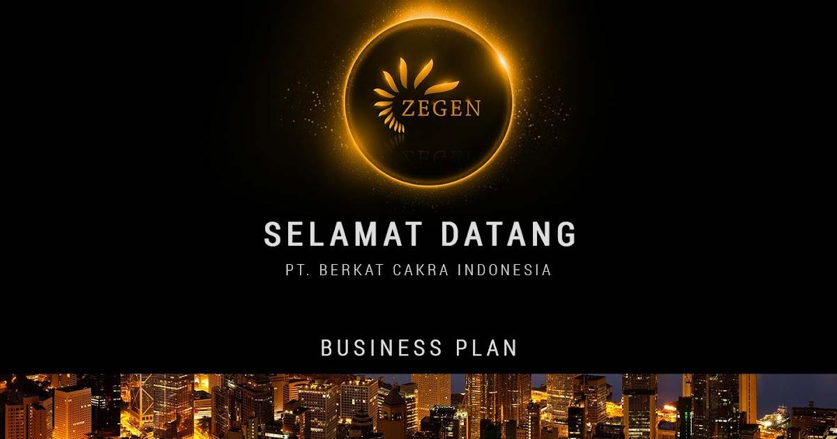 BUSINESS PLAN ZEGEN INDONESIA ARSYFA HERBAL