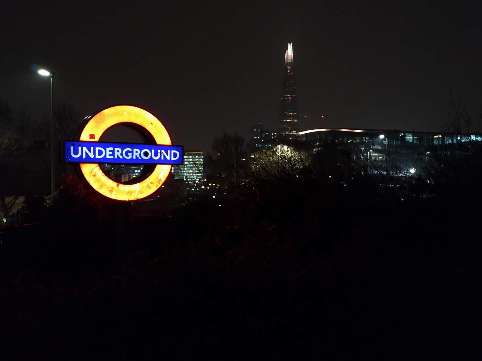 metro v londýně
