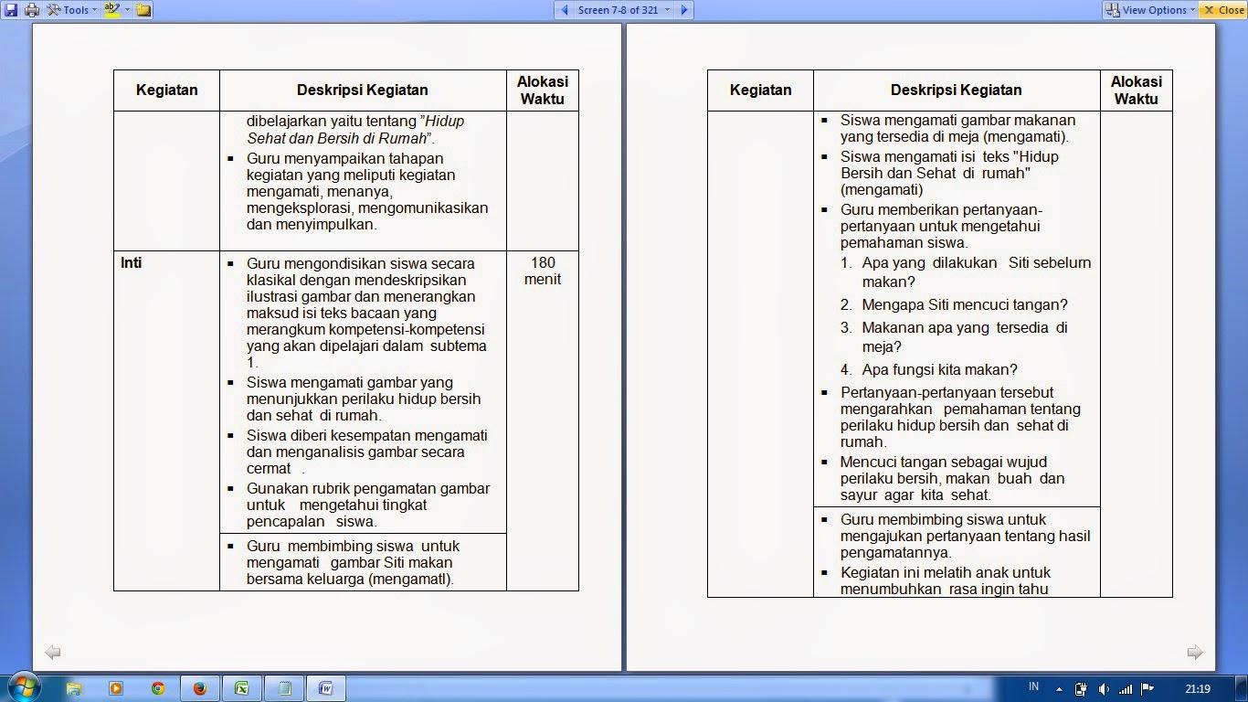 Contoh Rpp Kls 4 Kurikulum 2013 Kumpulan Rpp Lengkap Kurikulum 2013 Edisi Revisi Contoh Rpp