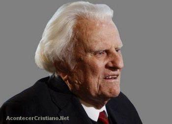 """Billy Graham es el """"hombre más admirado"""""""