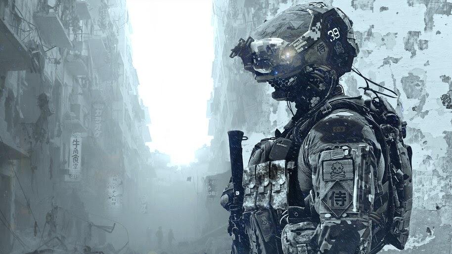 Sci-Fi, Soldier, 4K, #4.1010