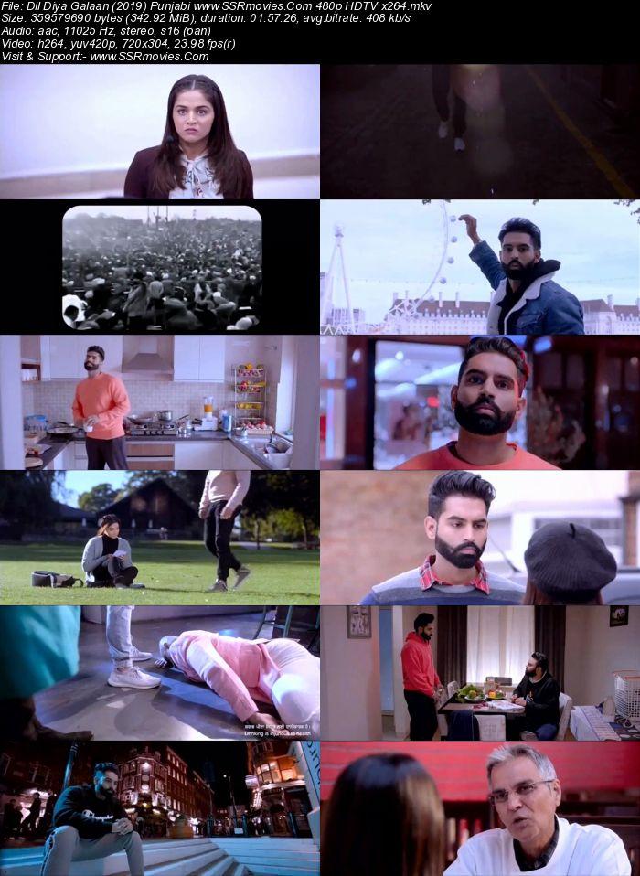 Dil Diyan Gallan (2019) Punjabi 480p HDTV x264 300MB Movie Download