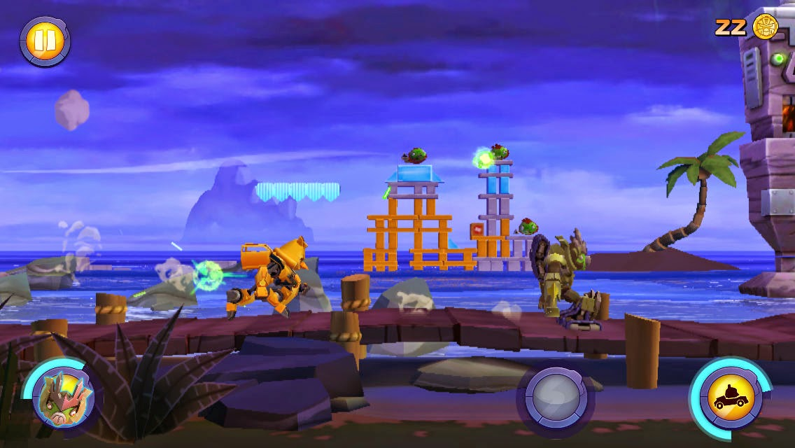 Angry Birds Transformers gratis para dispositivos móviles