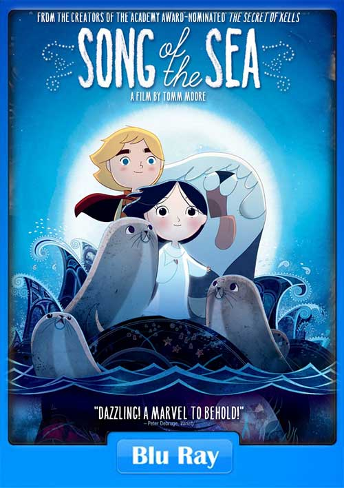 Song of the Sea 2014 BRRip 480p 280MB x264 Poster