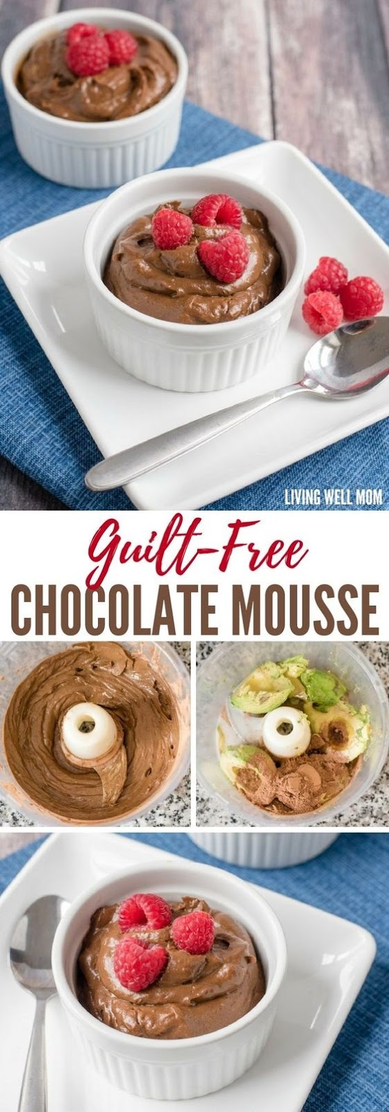 Guilt-Free Healthy Chocolate Mousse