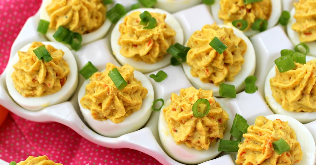 Kitchen Simmer: Curried Deviled Eggs (Mayo-Free)