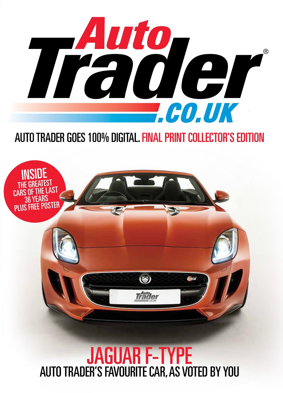 Speedmonkey This Will Be The Last Ever Autotrader Cover