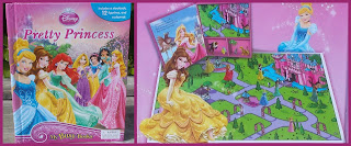 Disney, Disney Film, Disney Frozen, Disney Princess, Interactive Books, My Busy Book, Phidal Publishing, PVC Figurines, Small Scale World, smallscaleworld.blogspot.com, Book and Board