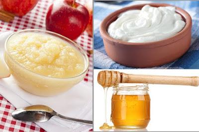 Cách làm trắng da mặt bằng sữa chua và mật ong