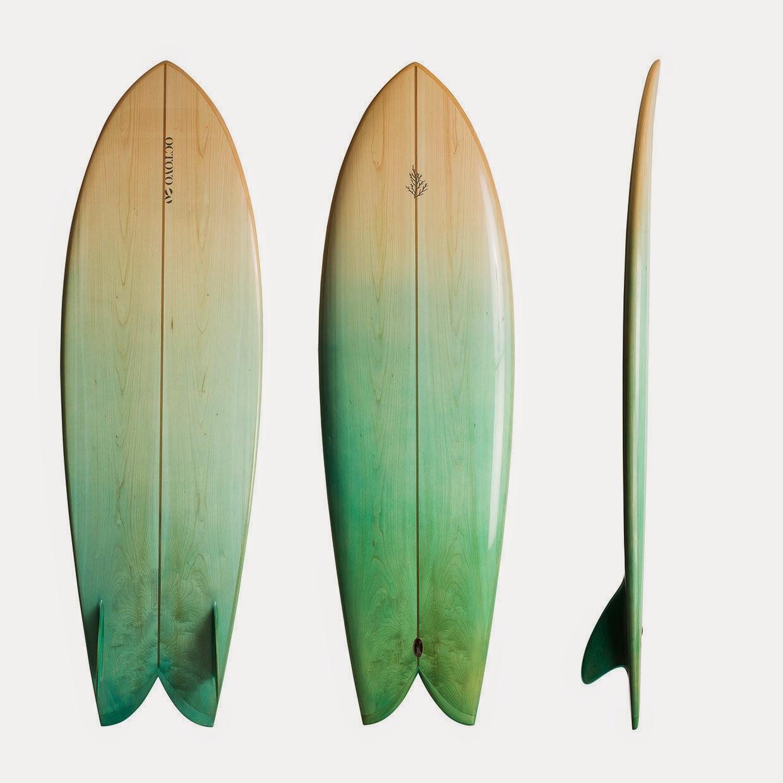 Lujo asiático: Octovo & Tilley surfboards