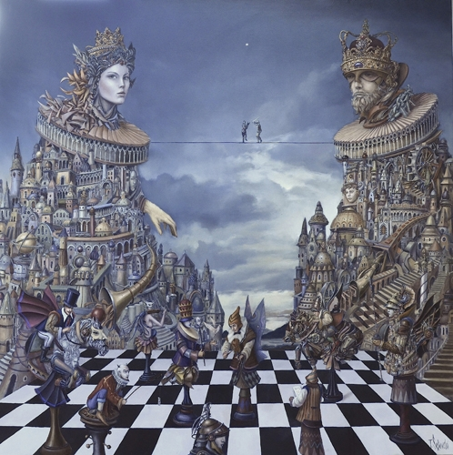 07-Game-of-Thrones-Tomek-Sętowski-Oil-Paintings-Magical-Realism-meets-Surrealism-www-designstack-co