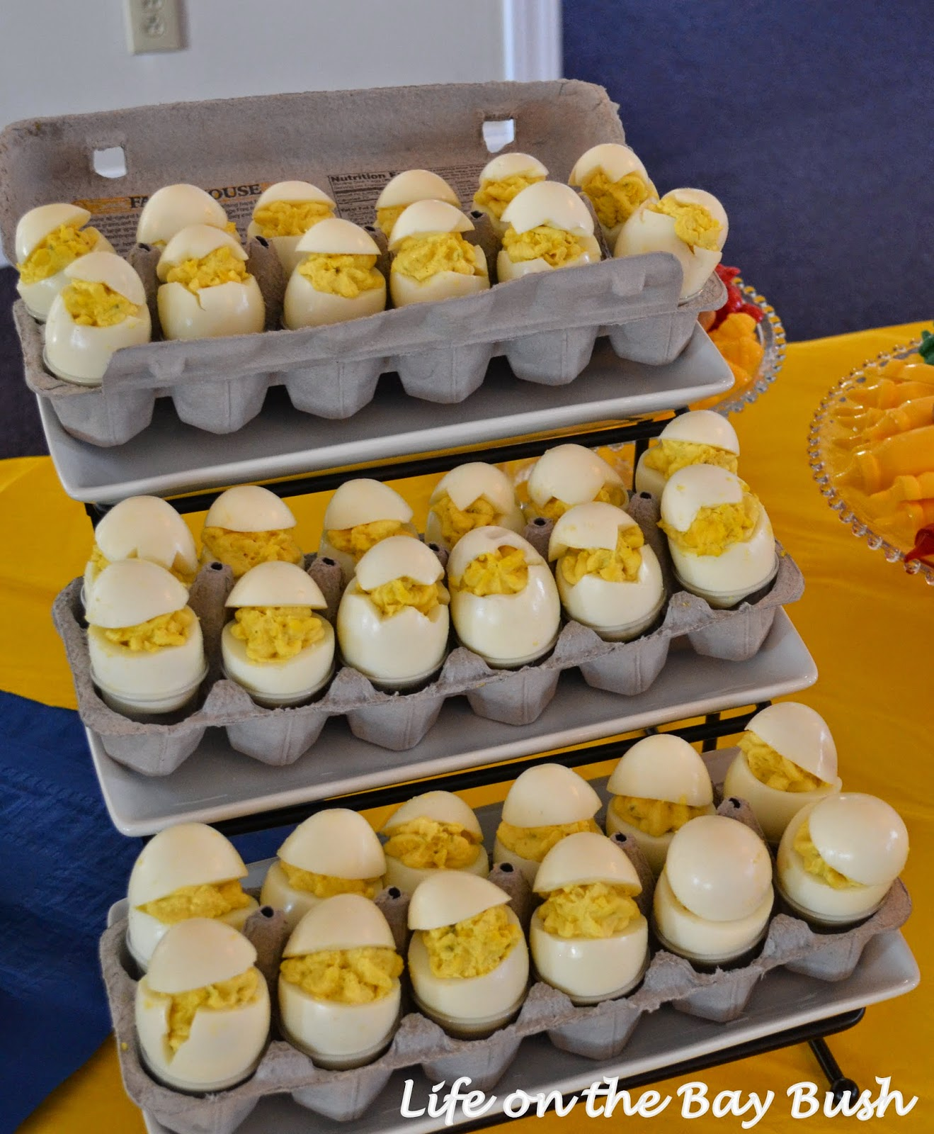 Baby Shower Deviled Eggs