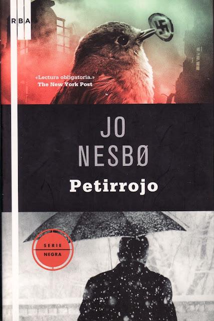 El Búho entre libros: PETIRROJO (JO NESBO) HARRY HOLE - 3