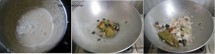 How to make Chicken Kurma- Step 2