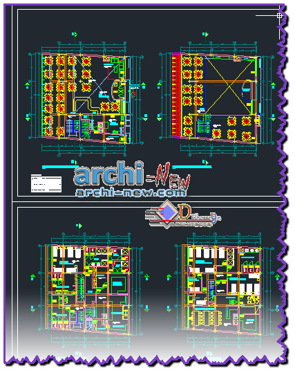 Download autocad cad dwg file detalles restaurant project for Detalles dwg