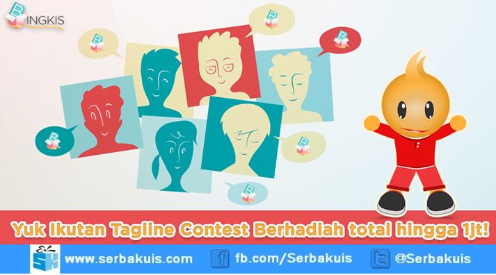 Bingkis Tagline Contest Berhadiah Gift Card Rp 500K & Kaos