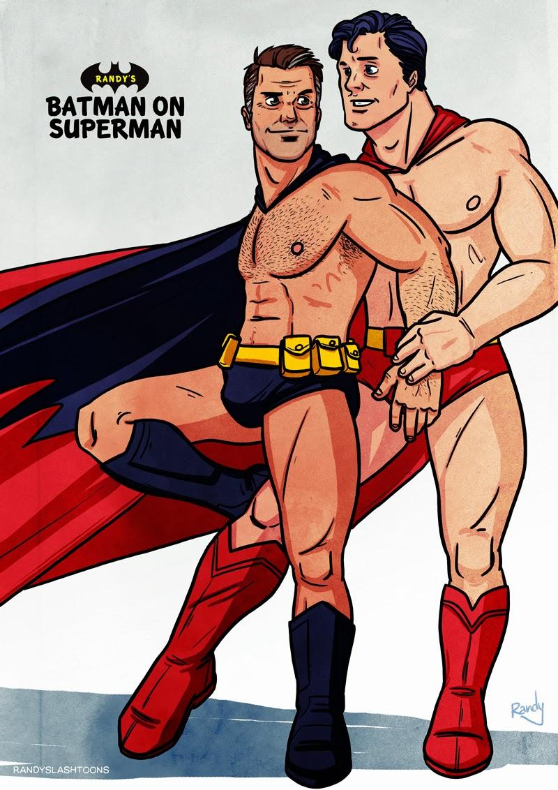 Porn cartoon gay superman