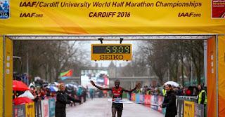 MARATÓN - Kamworor y Jechirchir son los campeones del mundo de Media Maratón