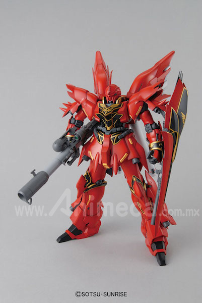 Model Kit Sinanju MSN-06S Master Grade (MG) 1/100 Mobile Suit Gundam Unicorn