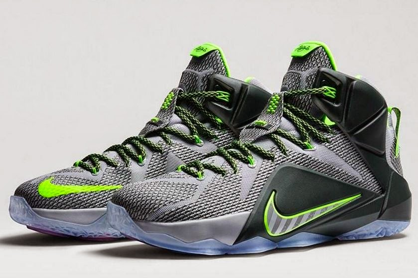 official photos 46d77 b8667 Nike Lebron 12 Dunk Force Sneaker Available Now (Detailed Look With Dj Delz)