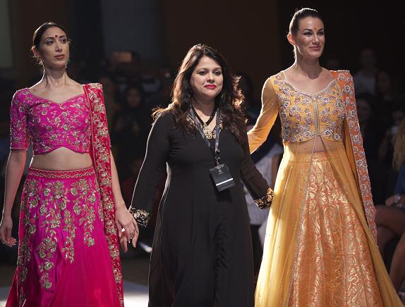 Designer Versha Sethi WIth Models