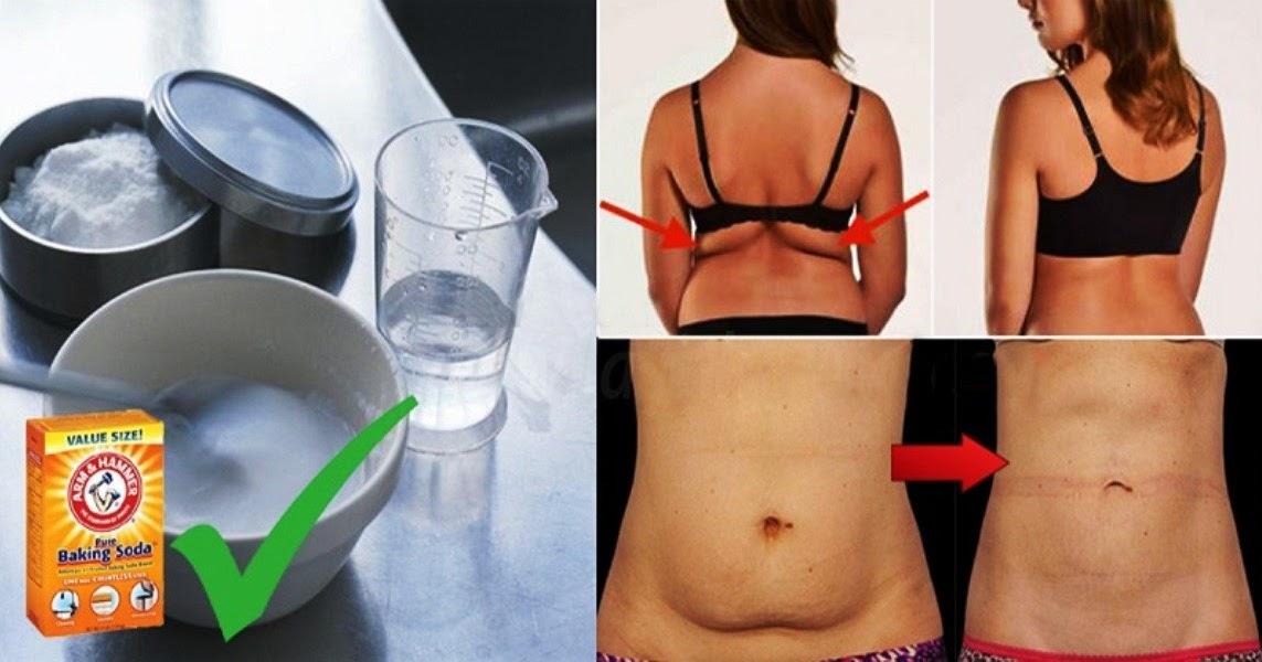 Похудение живота содой
