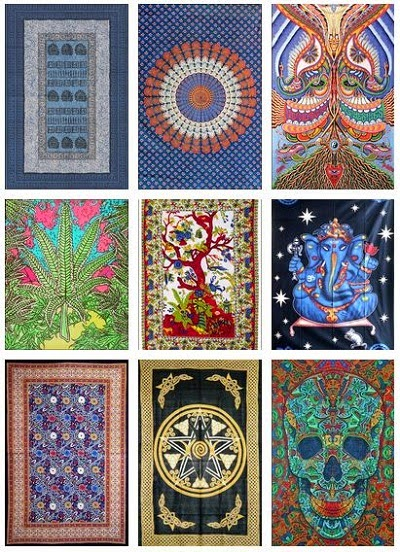 My Sims 3 Blog Trippy Tapestries By Pixeltricks