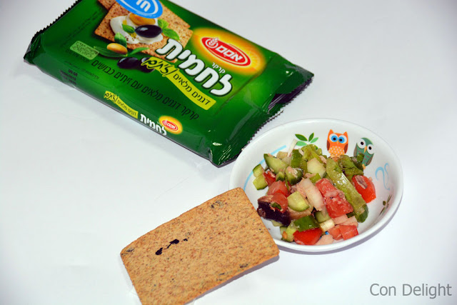 לחמית אסם Osem's crackers lachmit