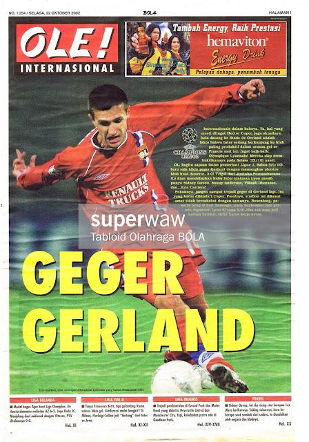 OLE! INTERNASIONAL: GEGER GERLAND