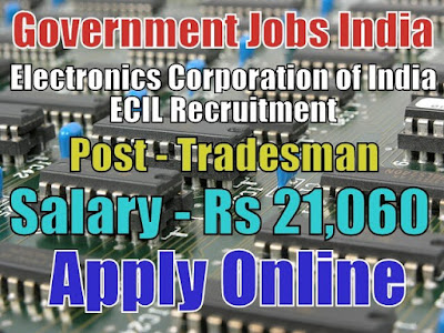 Electronics Corporation of India ECIL Recruitment 2018