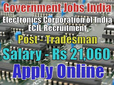 Electronics Corporation of India ECIL Recruitment 2018